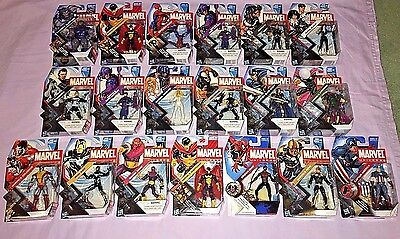 MARVEL HUGE Lot of 18 3.75 Inch Action Figures All Different Series 2-5 **NEW**