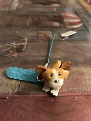 Cute Corgi Small Phone Chain