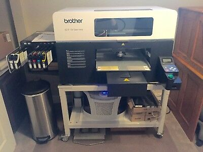 Brother DTG-361 Digital Printer - Perfect Condition with Heat Press