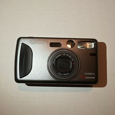 Kyocera Yashica T4 Zoom 35mm Point and Shoot *Read Description*