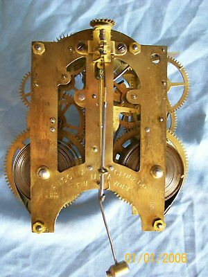 "Antique Ansonia ""Sharon"" Mantel Clock movement only, c.1890,s"