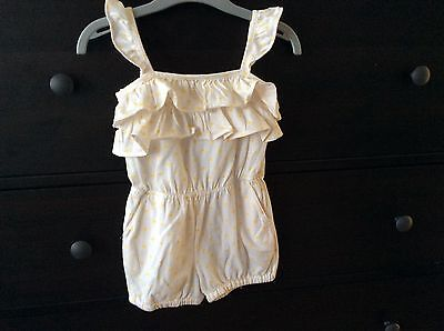Gap 2 years girl playsuit short VGC summer jumpsuit