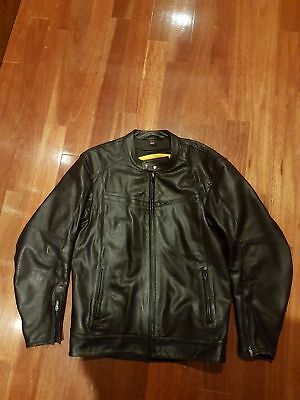 RST  black Mens motorcycle  leather jacket