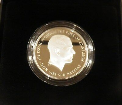2017 Royal Mint Prince Philip Celebrating a Life of Service £5 Silver Proof Coin