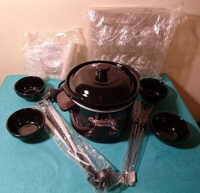 Electric Chocolate Fondue Set Homemaker Near New