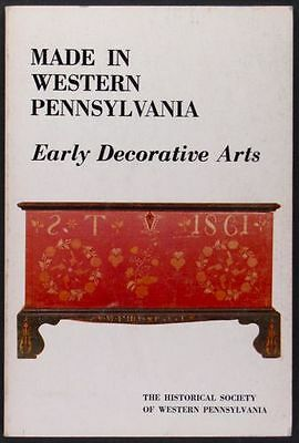 Western Pennsylvania Furniture, Pottery, Glass, Clocks, Silver -1982 Exhibition