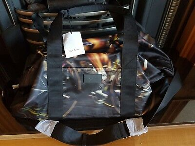 Paul smith holdall bag brand new cycle print in black