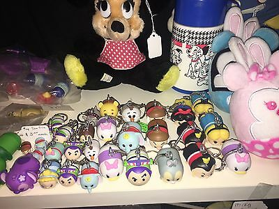 "Disney ""Tsum Tsum"" Keychains Various Characters"