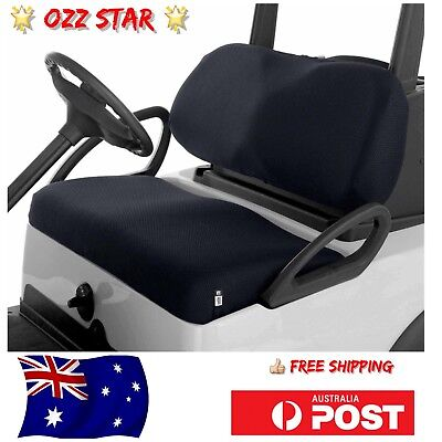 Classic Accessories Fairway Golf Cart Buggy Diamond Air Mesh Seat Cover AU STOCK