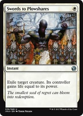 Swords to Plowshares FOIL - Iconic Masters M/NM