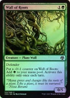 Wall of Roots FOIL - Iconic Masters M/NM