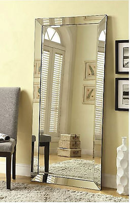 MIRRORS FOR WALL Full Length Free Standing Floor Mirror Lean Body ...