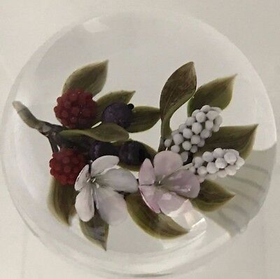 Victor Trabucco 2004 Bouquet in the Clear Paperweight [810]