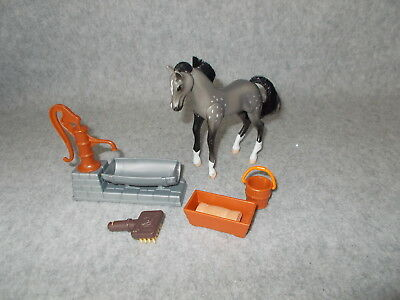 2000 Enterprise Industries Grand Champions Gray Grey Pony Horse Figure & Extras