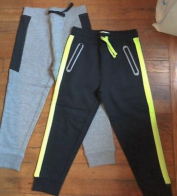 2 Pairs Of Boys Jogger Style Sweatpants Size 5