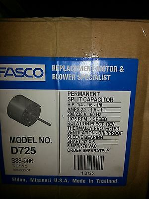 HVAC D725 Fasco Blower Motor 1 4 1 6 1 8HP 208 230V 1075RPM fasco d727 wiring diagram fasco d727 wiring diagram \u2022 wiring fasco blower motor wiring diagram at bayanpartner.co