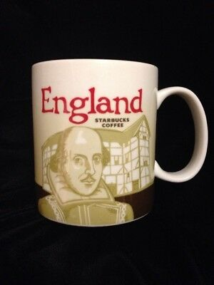 England (Shakespeare, Cliffs of Dover) UK  Starbucks Global Icon Mug