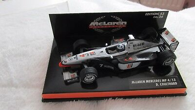 Maclaren Mercedes F1 Car Model In Display Case