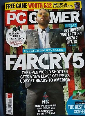 PC GAMER MAGAZINE ISSUE 312 issue Christmas 2017