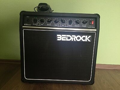 USA Tube amp BEDROCK 600 Series