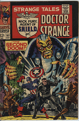 Strange Tales Issue 161 From 1967 Classic Jim Steranko art on Nick Fury Cents