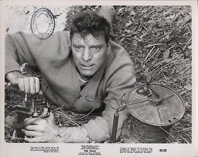 "BURT LANCASTER in ""The Train"" - Original Vintage PORTRAIT - 1965"