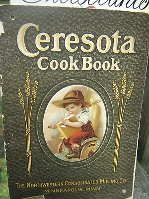 1912 Ceresota Cook Book, By Northwestern Consoidated Milling Co.., Minneapolis