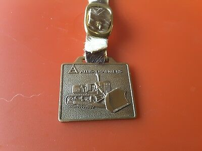 Allis Chalmers Track Type Tractor watch fob