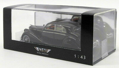 Neo 1/43 Scale Resin Model Car NEO43951 - Jaguar Mk V - Maroon