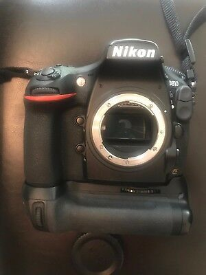 Nikon D D810 36.3MP Digital SLR Camera - (Body Only) with grip & extra battery
