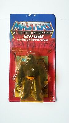 He-Man Masters of the Universe Figur 1984 Skeletor MOSS MAN Motu unpunched NEU