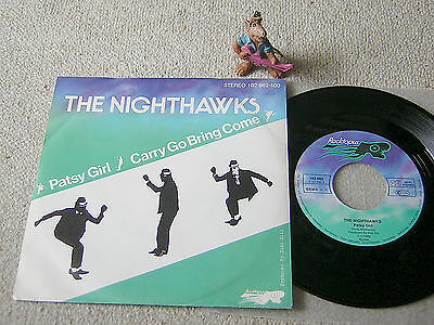 """THE NIGHTHAWKS Patsy Girl / Carry Go Bring Come 1980 GER 7""""+PS ROCKTOPUS SKA TOP"""