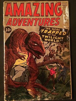 Amazing Adventures #3 (Aug 1961) Jack Kirby Dr Droom Marvel Silver Age FR/PR