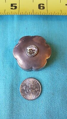 Vintage sterling pill box