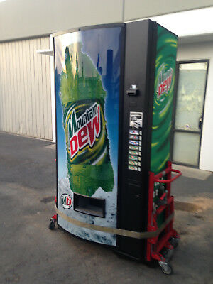 Mountain Dew Vendo 475-8 Soda Vending Machine Refurb W/Bills & Coins Made in USA
