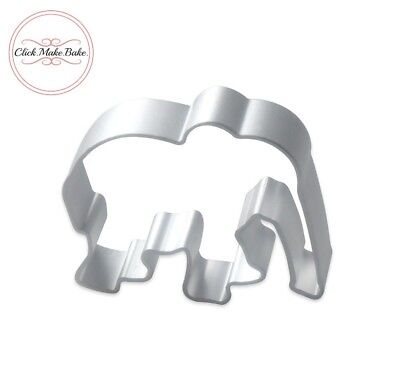 Elephant Shape Cake Pastry Biscuit Cookie Cutter Baking Fondant Mold Mould UK