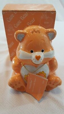 Vintage 1984 Care Bear Piggy Bank #53039 in Original Box