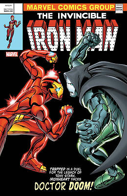 Invincible Iron Man #593 | Legacy | Lenticular Homage Cover | Marvel Comics 2017