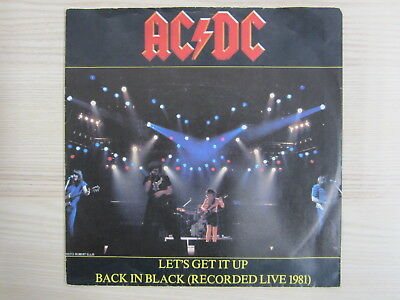 Single / AC/DC ‎– Let's Get It Up / Back In Black (Recorded Live 1981) / AUSTRIA