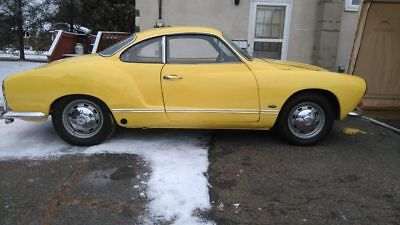 Volkswagen: Karmann Ghia There's cool & then there's 1969 Karmann Ghia cool...