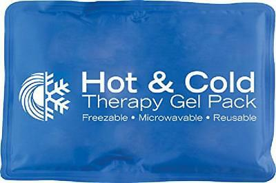 Ice Gel Pack Reusable Wrap Hot and Cold Therapy Pain Relief Neck Back Shoulder