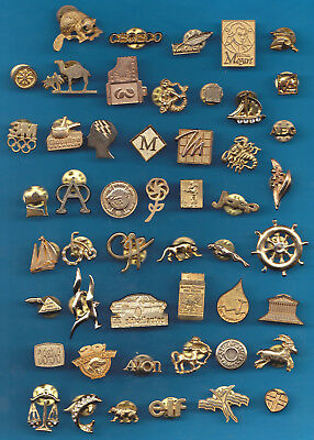 LOT DE 50 PIN'S PINS DORES / OR BIJOUX DORE ++++++++++++lo3+++++++++++++++++++++