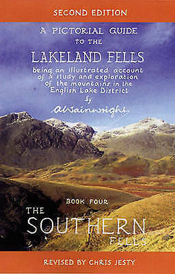 The Southern Fells 4 Wainwright Pictorial Guide 2nd Edition Lake District