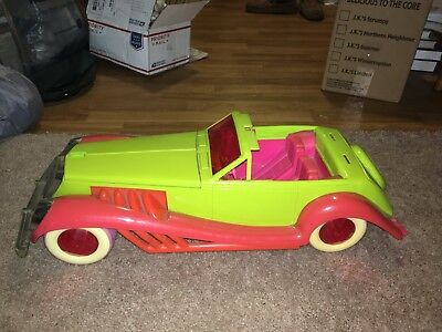 Jem and the Holograms Rockin Roadster Doll Car Hasbro USED