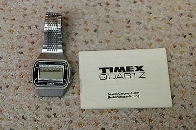 Timex Quartz M-498 Chrono Alarm defekt