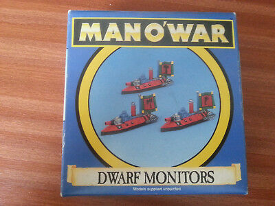 Dwarf Monitors *** Man O' War *** Specialist Games - FREE P&P
