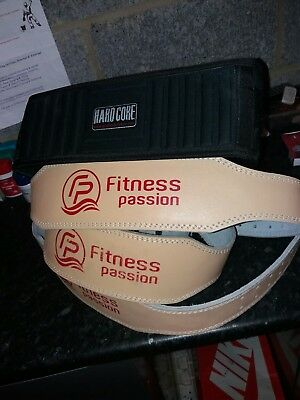 4 weight lifting belts
