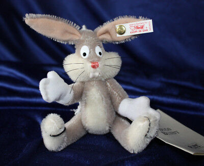 Steiff Bugs Bunny Hase Rabbit KFS Zerif. 665455 limit. Warner Bross Looney Tunes