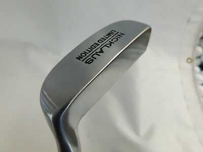 Nicklaus Limited Edition Blade Putter Steel Right