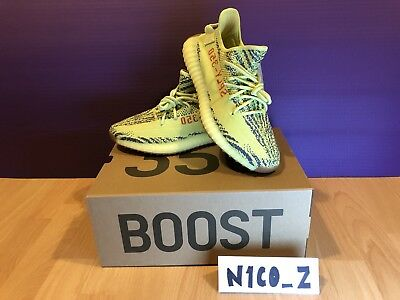 Adidas Yeezy Boost 350 v2 Semi Frozen Yellow US10 UK9.5
